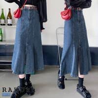 RAKUku(ラクク)のスカート/デニムスカート