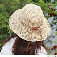 RAKUku(ラクク)の帽子/麦わら帽子・ストローハット・カンカン帽