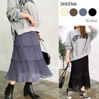 SHEENA (シーナ)のスカート/ティアードスカート