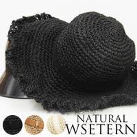 SHES COMPANY(シーズカンパニー)の帽子/麦わら帽子・ストローハット・カンカン帽