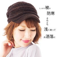 SHES COMPANY(シーズカンパニー)の帽子/キャスケット