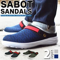 ShoeSquare | サボサンダル メンズ スリッポン クロッグ 2way ベルト 軽量 着脱簡単 メッシュ 屈曲性 靴 シューズ サンダルカジュアルシューズ スリッパ サボシューズ