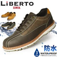 ShoeSquare | LiBERTOEDWIN リベルトエドウィン スニーカー メンズ 防水 レインシューズ コンフォートシューズ ウォーキングシューズメッシュ 通気性 靴 メンズシューズ