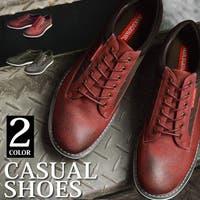 ShoeSquare | スニーカー メンズ カジュアルシューズ 靴 メンズシューズ ウォーキングシューズ ヴィンテージ加工 コンビ素材 防滑 軽量 衝撃吸収メッシュインソール