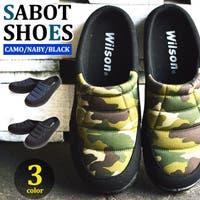 ShoeSquare | サンダル メンズ  キルティング 防滑サンダル サボサンダル  靴 メンズシューズ スリッパ スリッポン ちょい履き 防滑 軽量