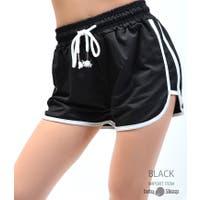 babyshoop  | B系 レディース ファッション ストリート ダンス おしゃれ ショーパン ライン セクシー インポート サイドラインショートパンツ