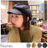 ShopNikoNiko(ショップニコニコ)の帽子/ベレー帽