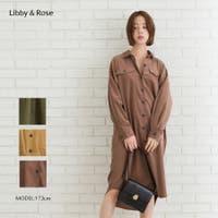 Libby&Rose   コーデュロイBIGシャツ