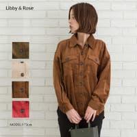 Libby&Rose   太コールBIGシャツ