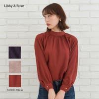 Libby&Rose   変形ドットボータイブラウス