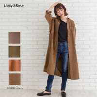 Libby&Rose   ベルト付ピーチシャツ
