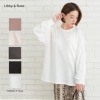 Libby&Rose   デカポケ付BIG Tシャツ