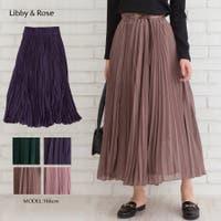 Libby&Rose   プリーツロングスカート