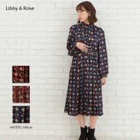 Libby&Rose   タイ付2WAY幾何学ワンピース