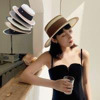 STYLEBLOCK(スタイルブロック)の帽子/麦わら帽子・ストローハット・カンカン帽