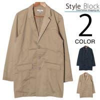 Style Block MEN(スタイルブロックメン)のアウター(コート・ジャケットなど)/チェスターコート
