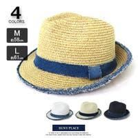 SUNY PLACE (サニプレ)の帽子/麦わら帽子・ストローハット・カンカン帽