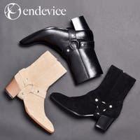 SVEC | ショートブーツ メンズ リングブーツ ウエスタンブーツ 革靴 人気 ブランド endevice エンデヴァイス 衣装 おしゃれ かっこいい メンズシューズ 2019 秋冬 新作 ELB630-1