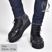 SVEC | 厚底 ブーツ メンズ ショートブーツ endevice エンデバイス EPB712-1