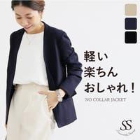 Sweet&Sheep(スィートアンドシープ )のアウター(コート・ジャケットなど)/ノーカラージャケット