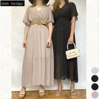 non-hedge (ノンヘッジ)のワンピース・ドレス/シフォンワンピース
