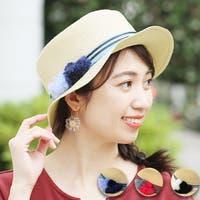 チチカカ(チチカカ)の帽子/麦わら帽子・ストローハット・カンカン帽