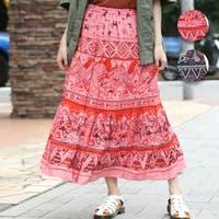 チチカカ(チチカカ)のスカート/ティアードスカート