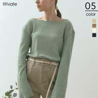 titivate(ティティベート)のトップス/Tシャツ