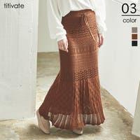 titivate(ティティベート)のスカート/フレアスカート