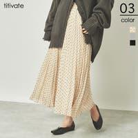 titivate(ティティベート)のスカート/プリーツスカート