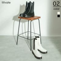 titivate(ティティベート)のシューズ・靴/サイドゴアブーツ
