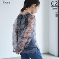 titivate(ティティベート)のトップス/ブラウス