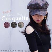 TOKOHANA(トコハナ)の帽子/キャスケット