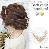 clarissa(クラリッサ)のヘアアクセサリー/カチューシャ