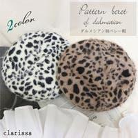 clarissa(クラリッサ)の帽子/ベレー帽