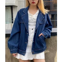 WEGO【WOMEN】(ウィゴー)のアウター(コート・ジャケットなど)/デニムジャケット