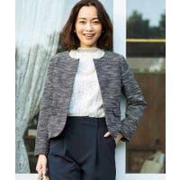 Couture brooch(クチュールブローチ)のアウター(コート・ジャケットなど)/ノーカラージャケット