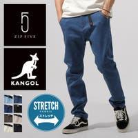 Z zip clothing store ジップクロージングストア ジップクロー | クライミングパンツ メンズ ロングパンツ デニムパンツ ツイル イージーパンツ カンゴール KANGOL ZIP ジップ【kgaf-0041】