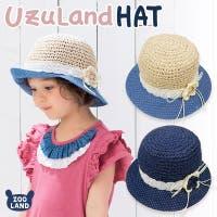 zooland(ズーランド)の帽子/麦わら帽子・ストローハット・カンカン帽