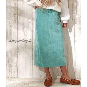 ストレッチコールテンタイトスカート anap mimpi