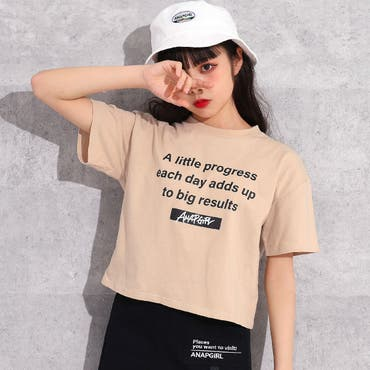 メッセージTシャツ / ANAP GiRL / 913-6378