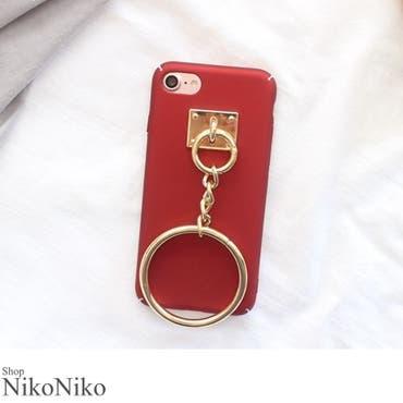 春新作 リング付きiPhoneケース ma