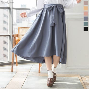 フィッシュテールリボンスカート 韓国 オルチャン 夢展望