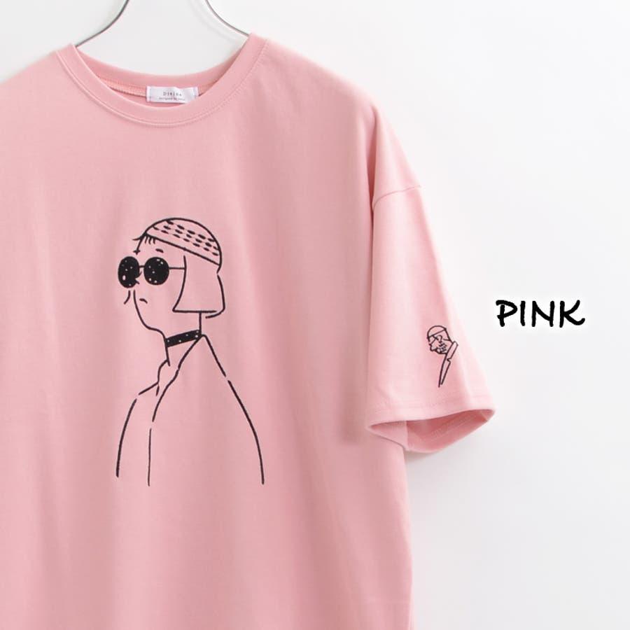 ビッグtシャツ メンズ ビッグシルエット レディース tシャツ 半袖 ビッグシルエットtシャツ 半袖tシャツ 刺繍 tシャツ ゆったり 大きめ オーバーサイズ メンズ レディース ペアルック カップル お揃い 服 お揃いtシャツ お揃いコーデ 韓国 ファッション 夏 夏服 春夏 124