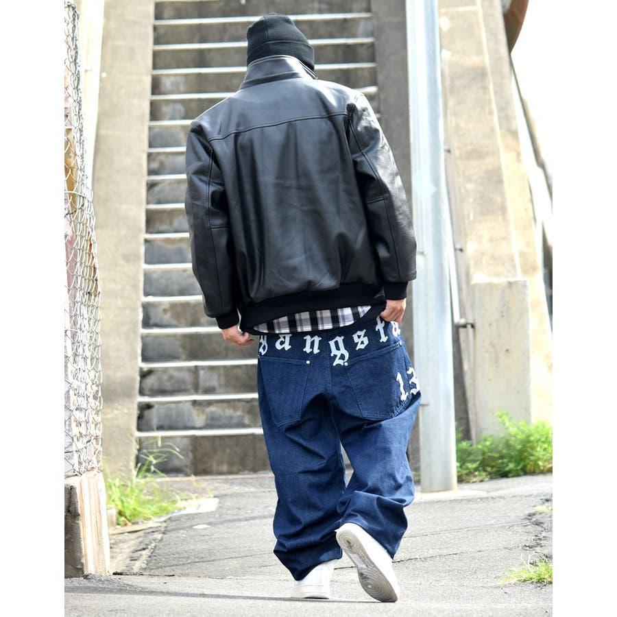 レザージャケット メンズ ファージャケット 大きいサイズ B系 ファッション ストリート ブルゾン 【02P05Nov16】 8