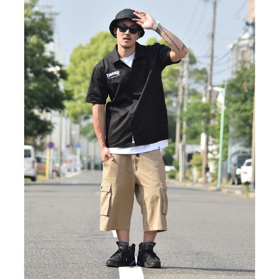 DOP 【ディーオーピー】カーゴショーツ ハーフパンツ メンズ ルーズフィットB系 メンズ ファッション