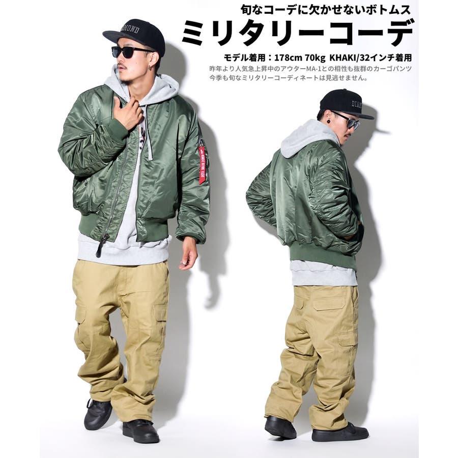 DOP 【ディーオーピー】カーゴパンツ メンズ ロングカジュアル アメカジ B系 ファッション ストリート系 6