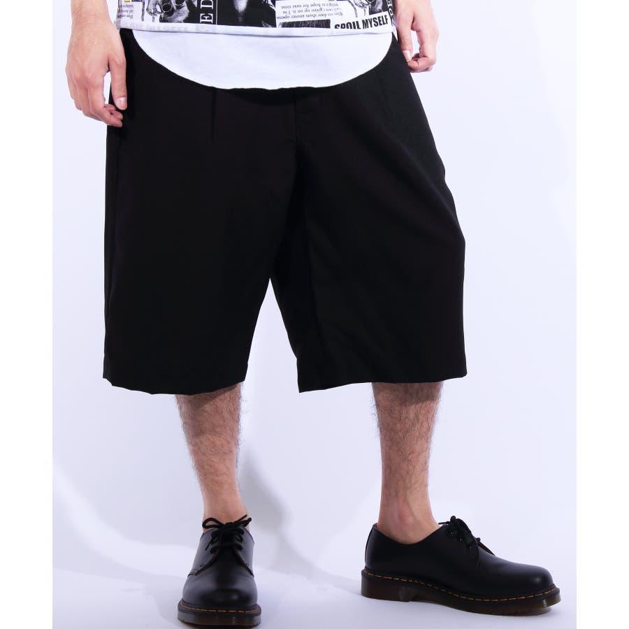 ショートパンツ メンズ 短パン ハーフパンツ全5色 新作 ショートパンツポリトロ 膝上 ショーパンネイビー ブラック ブルー M LLL8(eight) エイト 8 21