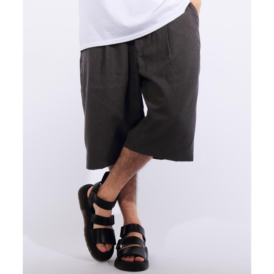ショートパンツ メンズ 短パン ハーフパンツ全5色 新作 ショートパンツポリトロ 膝上 ショーパンネイビー ブラック ブルー M LLL8(eight) エイト 8 26