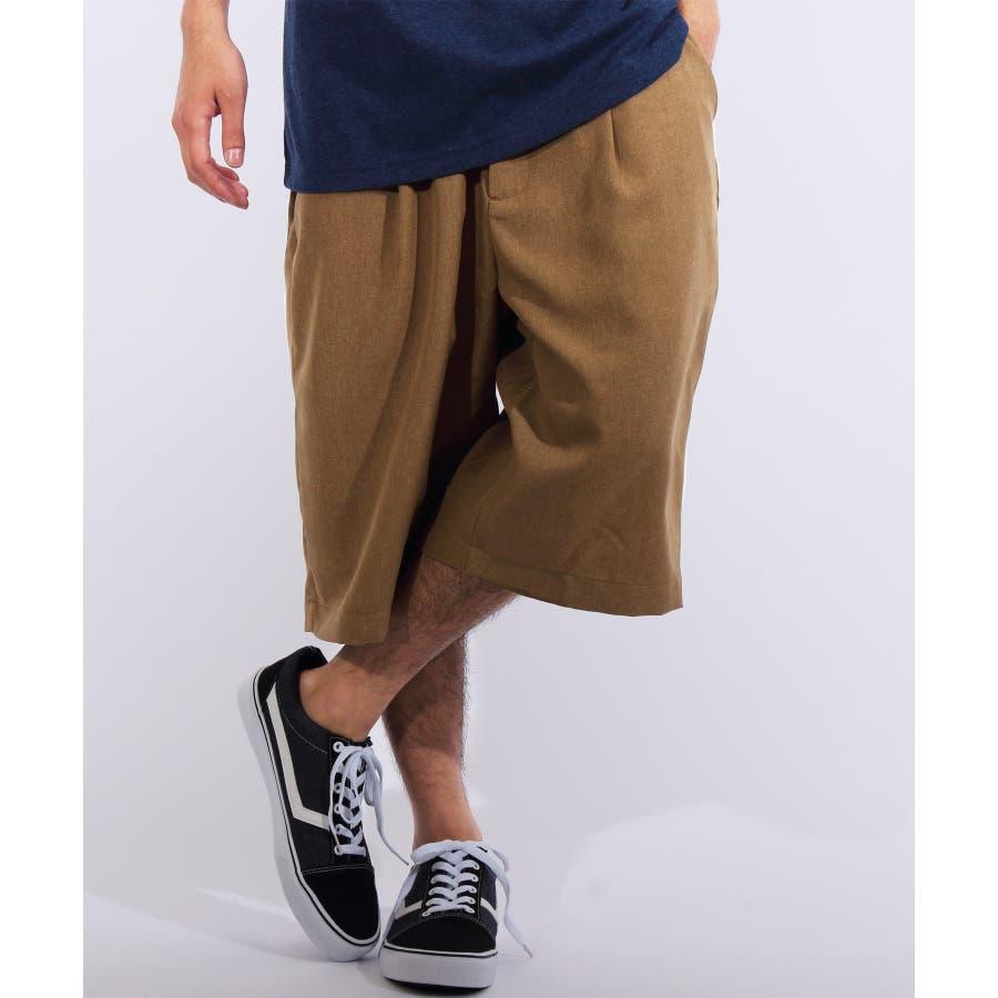 ショートパンツ メンズ 短パン ハーフパンツ全5色 新作 ショートパンツポリトロ 膝上 ショーパンネイビー ブラック ブルー M LLL8(eight) エイト 8 41